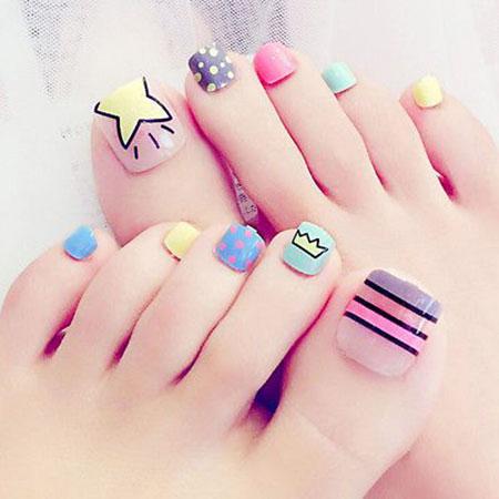 Nail Toe Toes Art