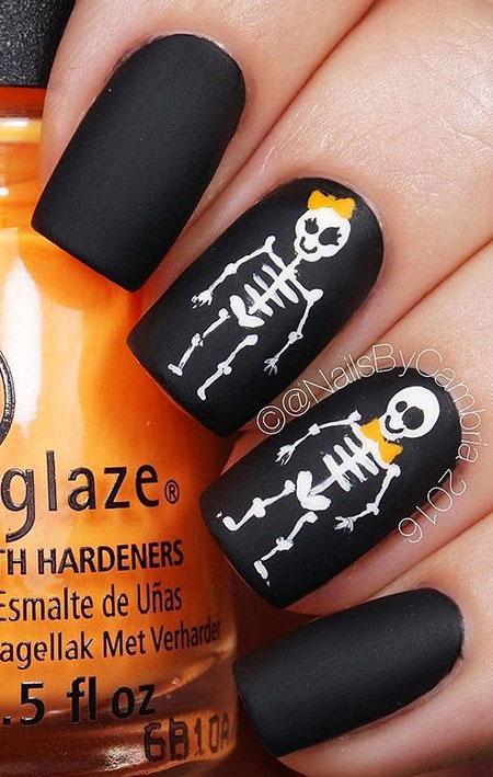 Halloween Nail Art Nails