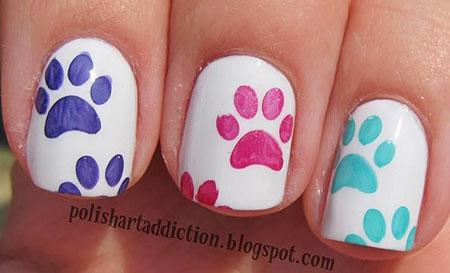 Nail Dog Art Nails