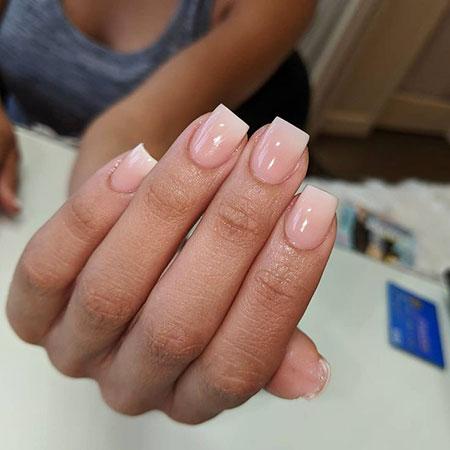 Nail Nails Pink Natural