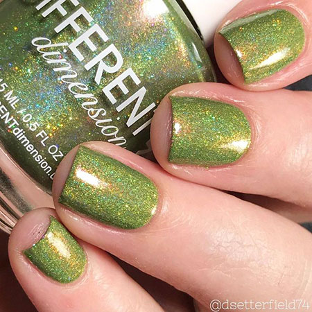 Winter Polish 2017 Green
