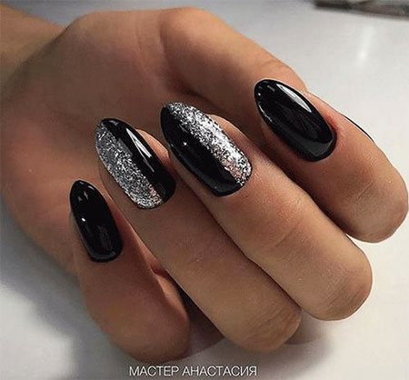 Nails Nail Manicure Black