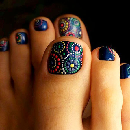 Nail Toe Designs Ideas