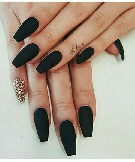 Nails Coffin Nail Matte
