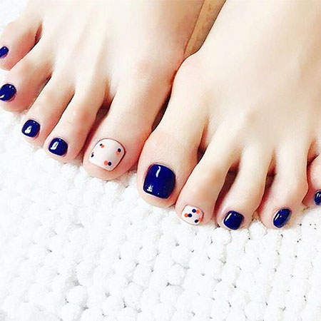 Nail Toe Summer Педикюр