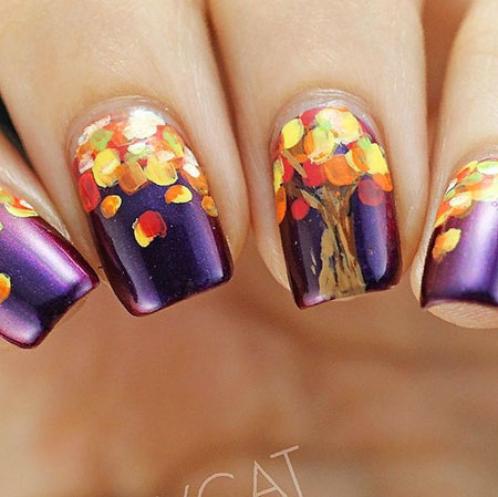 Nail Nails Art Fall