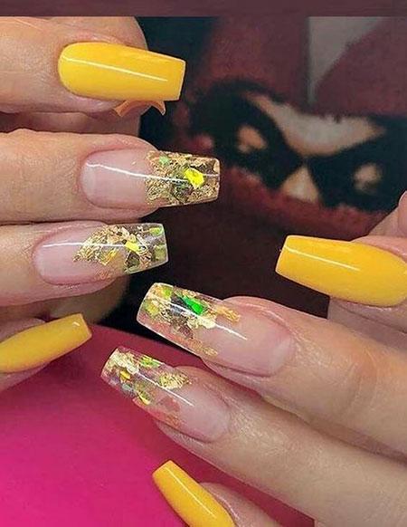 Nails Nail Yellow Designs