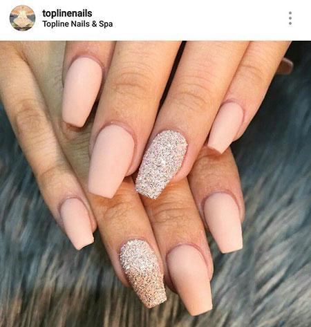 Nails Acrylic Nail Matte