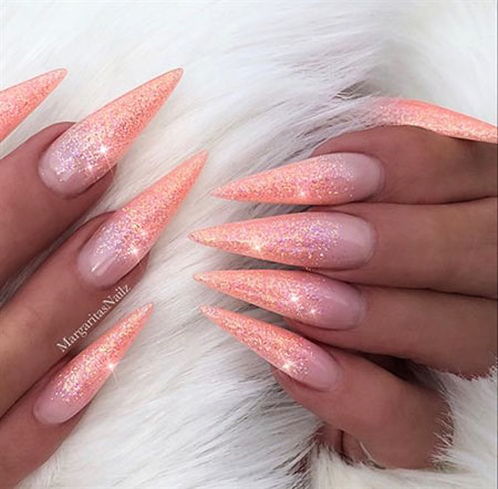 Nails Nail Stiletto Gel