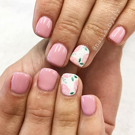 summer simple short nail designs  confession of rose