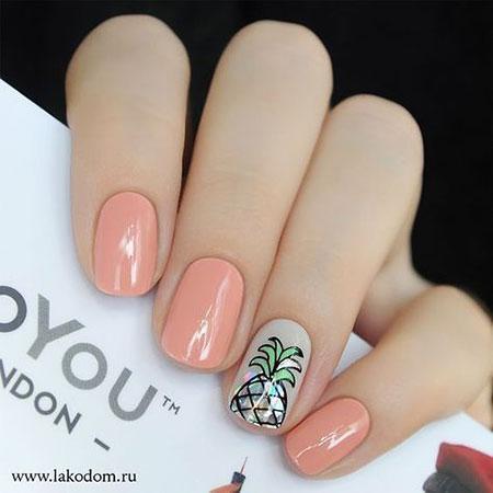 Pink Short Nail Style, Nail Nails Manicure But