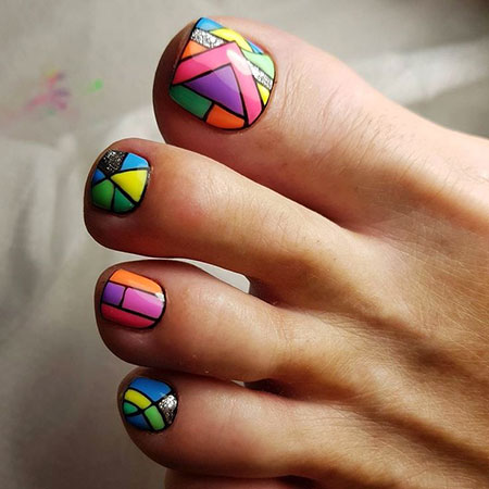 Nail Toe Pedicure Nailart
