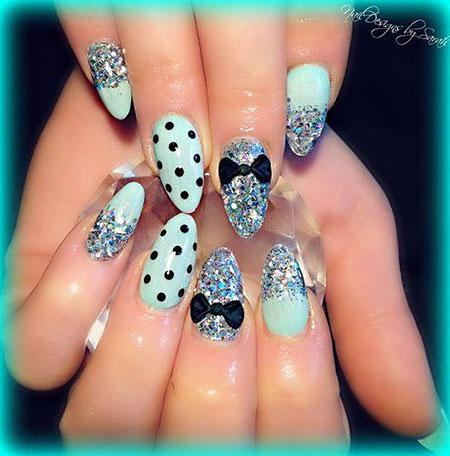 Nail Nails Mint Cool