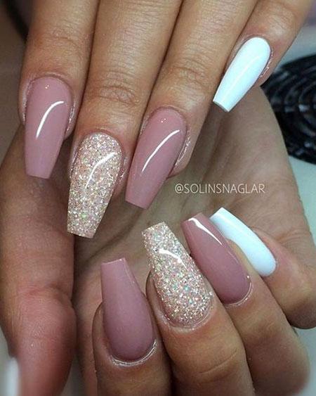 Nails Acrylic Pink Nail
