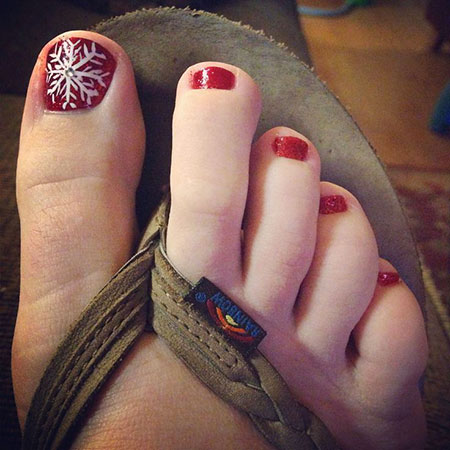 Nail Toe Art Fun