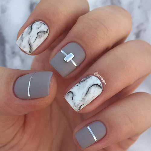 Nail Art Designs for Short Nails -11