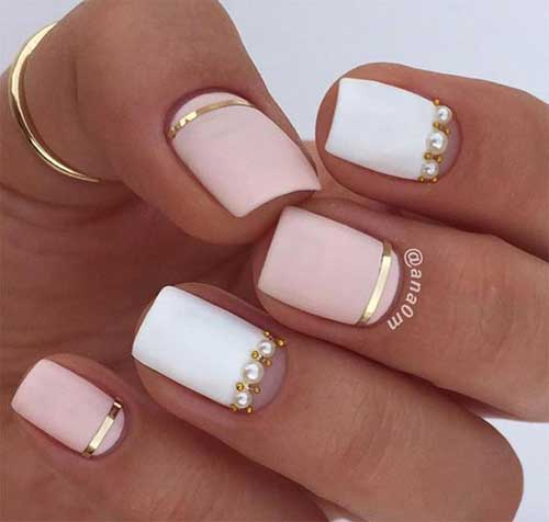 Nail Art Designs for Short Nails -13