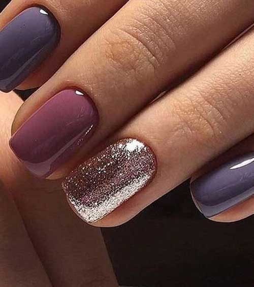 Nail Art Designs for Short Nails -19