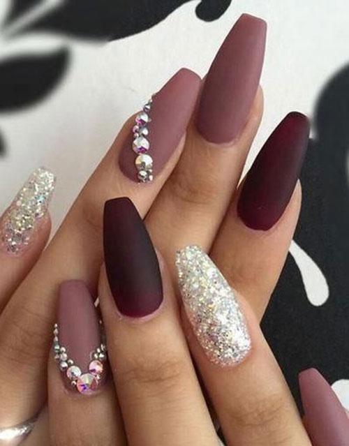 Nail Designs with Rhinestones-13