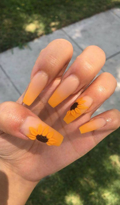 Coffin Shaped Nails-17