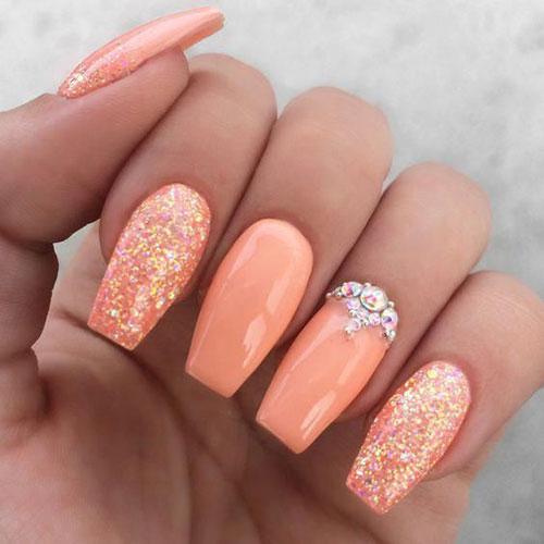 Nail Designs with Rhinestones-19