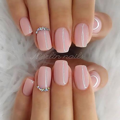 Nail Designs with Rhinestones-6
