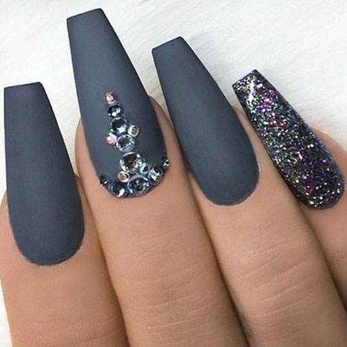 Nail Designs with Rhinestones-8
