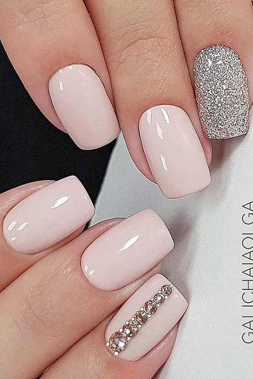 Bridal Nail Ideas