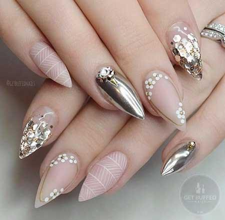 Nail designs for brides image collections nail art and nail wedding nails design 2017 best nails 2018 10 gold bridal nail designs 2017041130 art 2017 prinsesfo prinsesfo Choice Image
