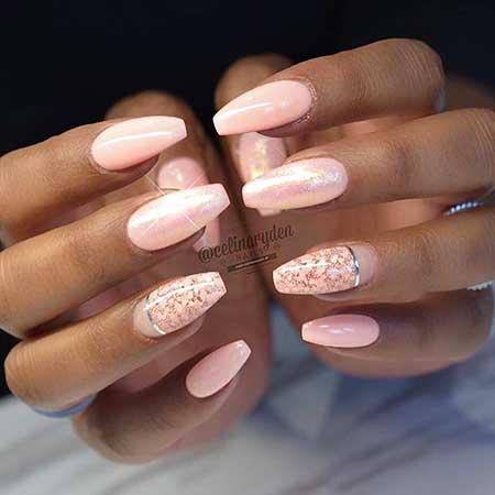 Pink Wedding Nail Art Ideas - 11