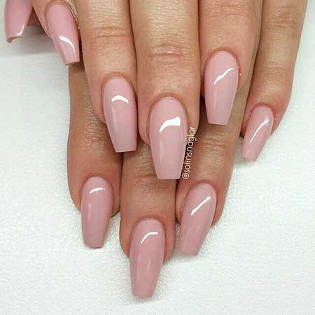 Light Pink Nail Designs 2017 - 13