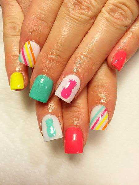 Easy Fun Nail Designs - 14
