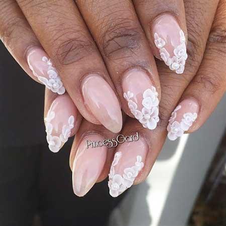 Pink Gorgeous Wedding Nail Art Ideas - 14
