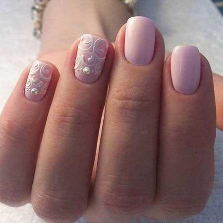 Gorgeous Wedding Nail Art Ideas - 15