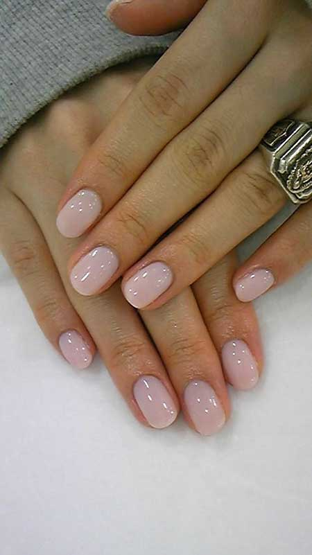 Light Pink Nail Designs 2017 - 17