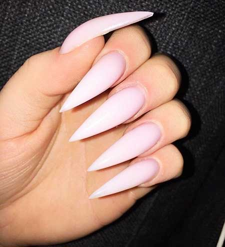 Light Pink Nail Designs 2017 - 18