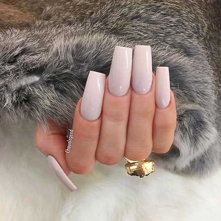 27 Square Acrylic Nails Designs 2017
