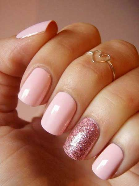 Light Pink Nail Designs 2017 - 20