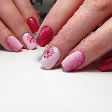 Pink Nail Designs 2017 - 21