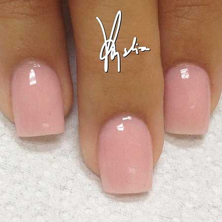 Light Pink Nail Designs 2017 - 23