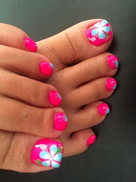 Summer Pedicure Designs 2017