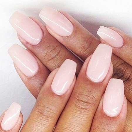 Light Pink Nail Designs 2017 - 24