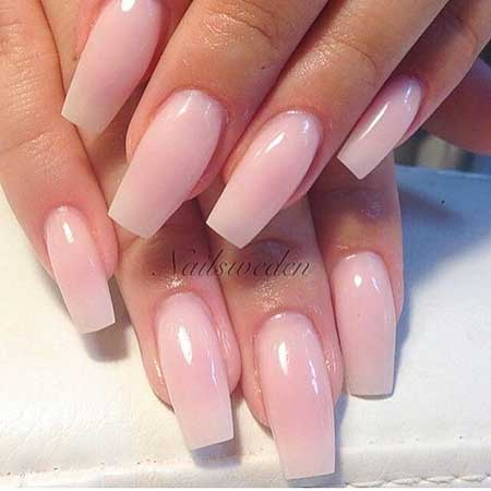 Light Pink Nail Designs 2017 - 28