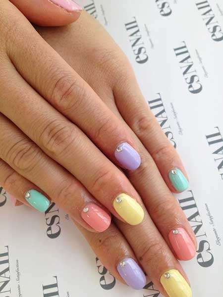 Each Nail A Different Color