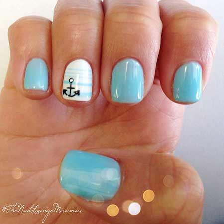 Gel Fun Nail Designs for Summer