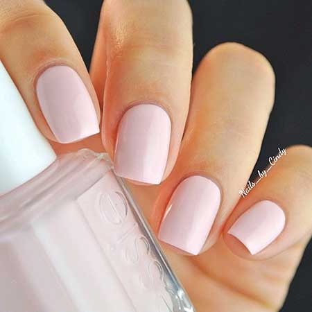 Light Pink Nail Designs 2017