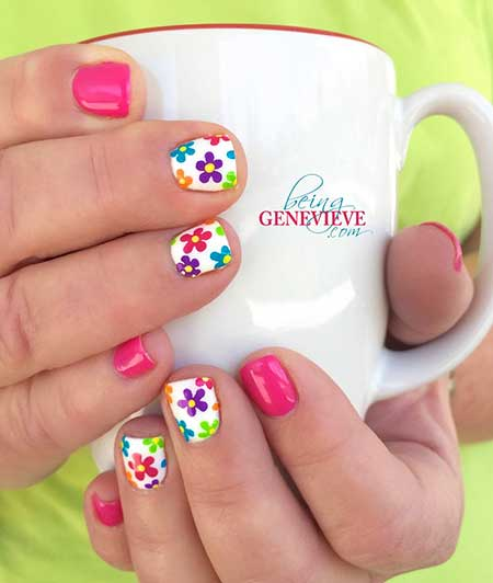 Fun Spring Manicure