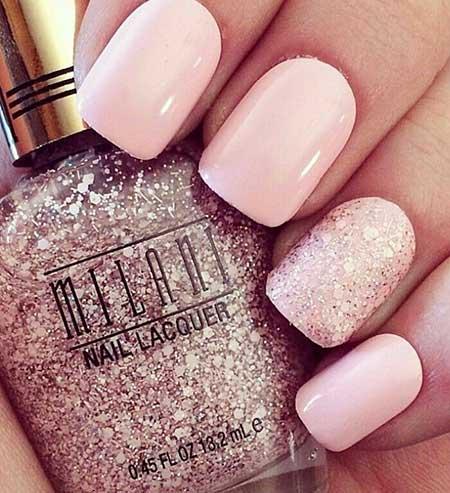 Light Pink Gel Nails