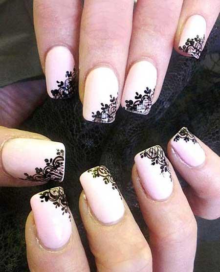 Pink Gorgeous Wedding Nail Art Ideas - 9
