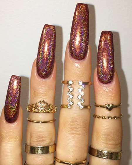 Polish, Glitter, Gold, Glitter Nil, Nil Polish, Nil, Opi, Long, Squre,